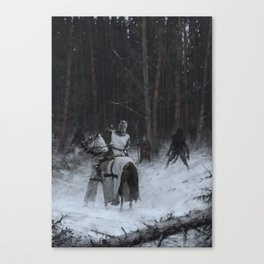 Samogitia 1409 Canvas Print