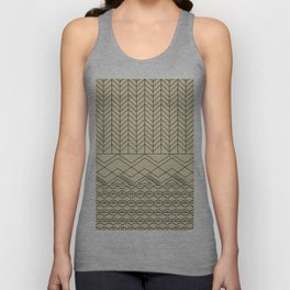 Native Aztec Unisex Tank Top