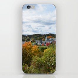 Harbor Springs Bay- View from Bluff(3) iPhone Skin
