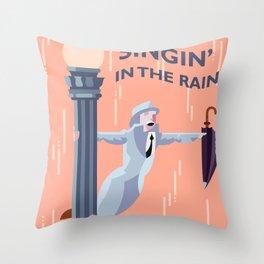 Singin' in the Rain Throw Pillow