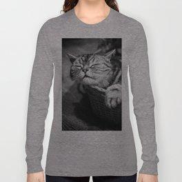 sleepy cat Long Sleeve T-shirt