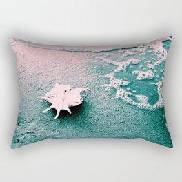 Shell on the beach 02 Rectangular Pillow