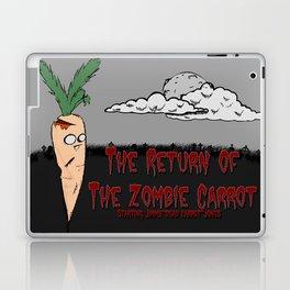 The zombie carrot Laptop & iPad Skin