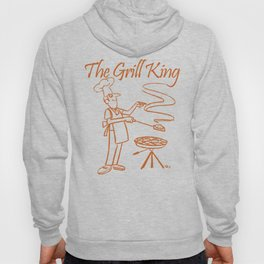 The Grill King Funny Chef Cook Grilling BBQ Meat Hoody