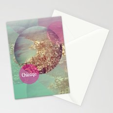 Chicago 2 Stationery Cards