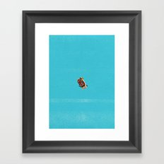 Who's Turn To Drive? Election '17 Framed Art Print