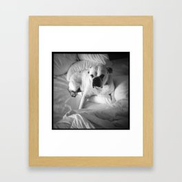 The Good Dog Framed Art Print