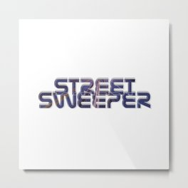 Street Sweeper Metal Print