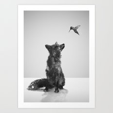 Little Friend Art Print