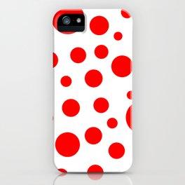 Polka dot #3 iPhone Case