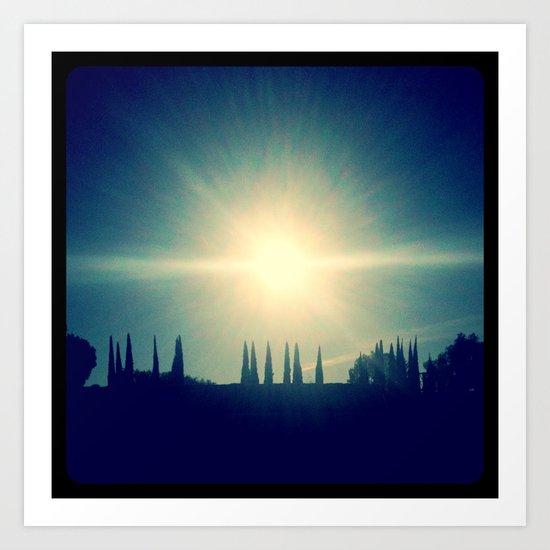 Sun! Art Print