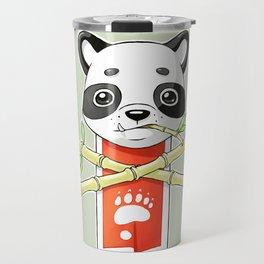 Panda Banner Travel Mug