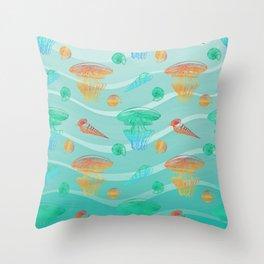 Marine Pattern 12 Throw Pillow