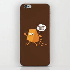 Don't Shred on Me iPhone & iPod Skin