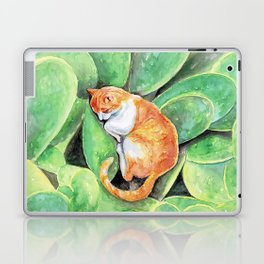 Happy Caturday Laptop & iPad Skin