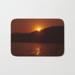 Beautiful Sunset - Red #3 Bath Mat