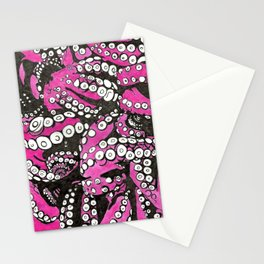 Octopi tentacles Stationery Cards