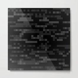 Digital Camouflage Metal Print