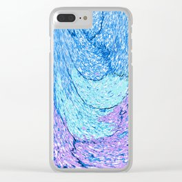 501 - Abstract Design Clear iPhone Case