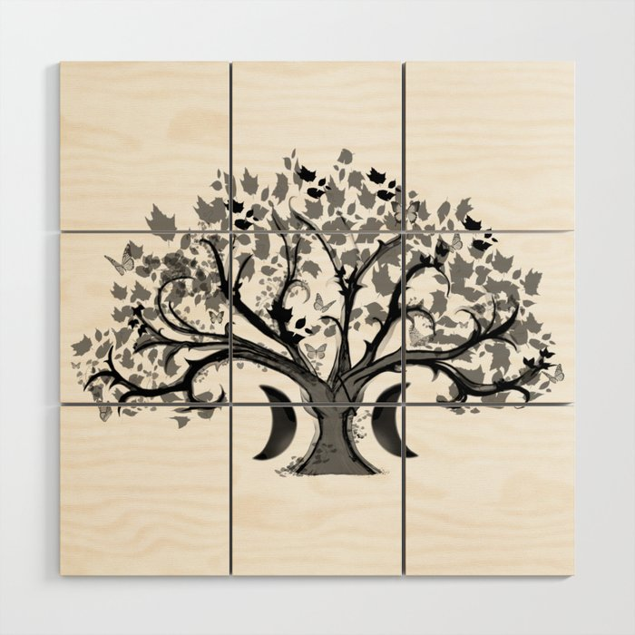 The Zen Tree Wood Wall Art