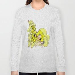 Banana Flavor Girl Long Sleeve T-shirt