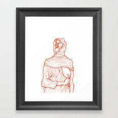 Girl 6 Framed Art Print