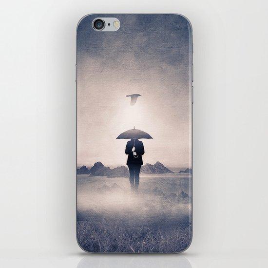 Waiting for the rain (colour option) iPhone & iPod Skin