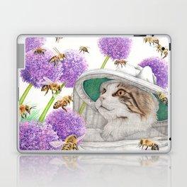 Bee Cat Laptop & iPad Skin