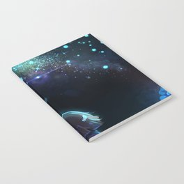 Starry (Night) Undertale Notebook