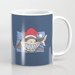 Christmas Shark Coffee Mug