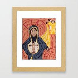 Annunciation Framed Art Print