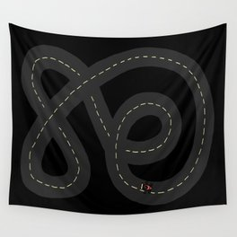 Racing Car Wall Tapestry