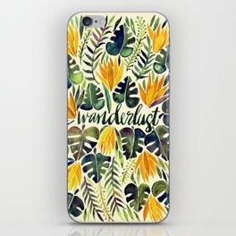 Tropical Wanderlust – Orange & Emerald iPhone Skin