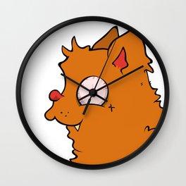 My crazy friend Wall Clock