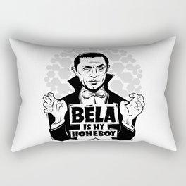 Bela Is My Homeboy Rectangular Pillow