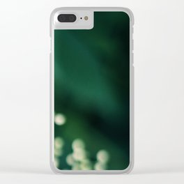 Elderberry Dreaming Clear iPhone Case