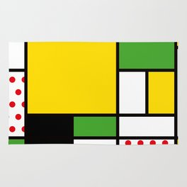 Mondrian – Bycicle Rug