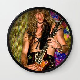 "Zakk Wylde ""Young & Hung"" Wall Clock"