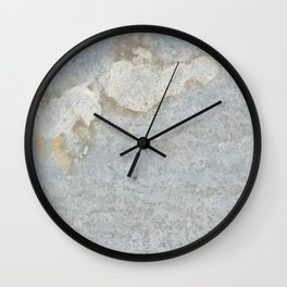 Blueish, rusty and old steel texture Wall Clock