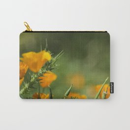 Blurry Poppies Carry-All Pouch