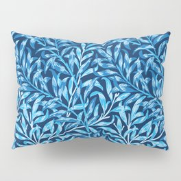 William Morris Willow Bough, Cobalt and Navy Blue Pillow Sham