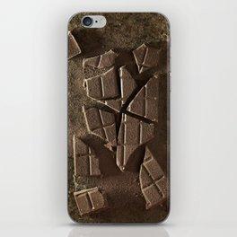 Choco break iPhone Skin