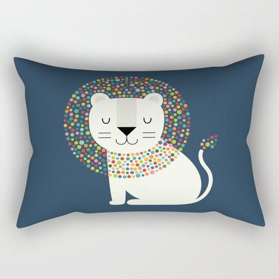 As A Lion Rectangular Pillow