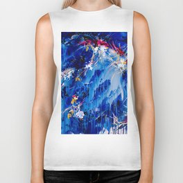 As The Universe Falls Together Biker Tank