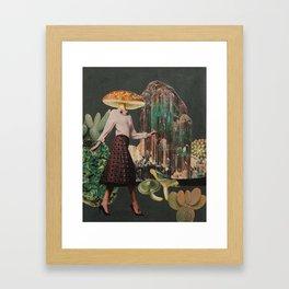 Amanita pantherina Framed Art Print