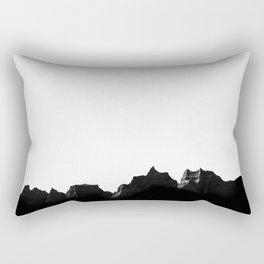Badlands III Rectangular Pillow