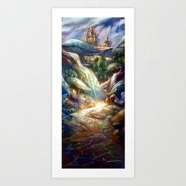 Elfindor Art Print