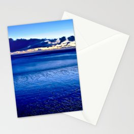 BLUE SILENCE of the SEA Stationery Cards