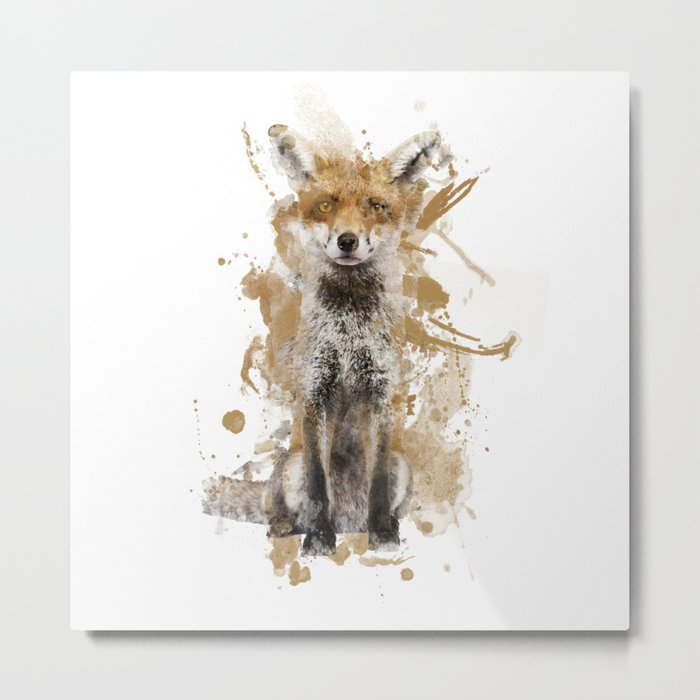 FOX SPIRIT Metal Print