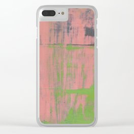 Simon Carter Painting Concealment Clear iPhone Case